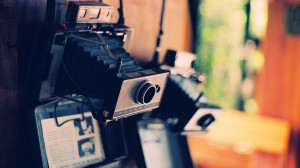 Gammelt kamera