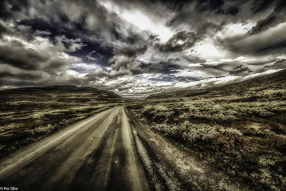 Dagen etter kom snøen (Foto: Per Sibe)