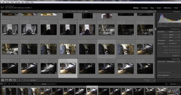 Adobe Lightroom er en utmerket måte å sortere og redigere bilder på.