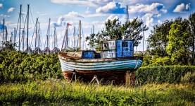 Høst for en båt (Foto: Per Sibe)